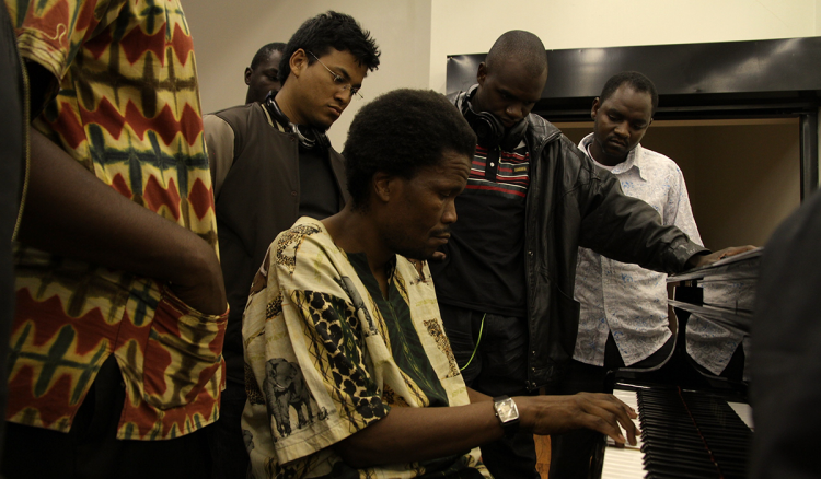 Bheki Khosa Masterclass at South East African Global Music Campus