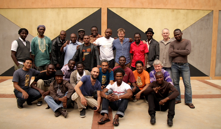 Group at South East African Global Music Campus 2012