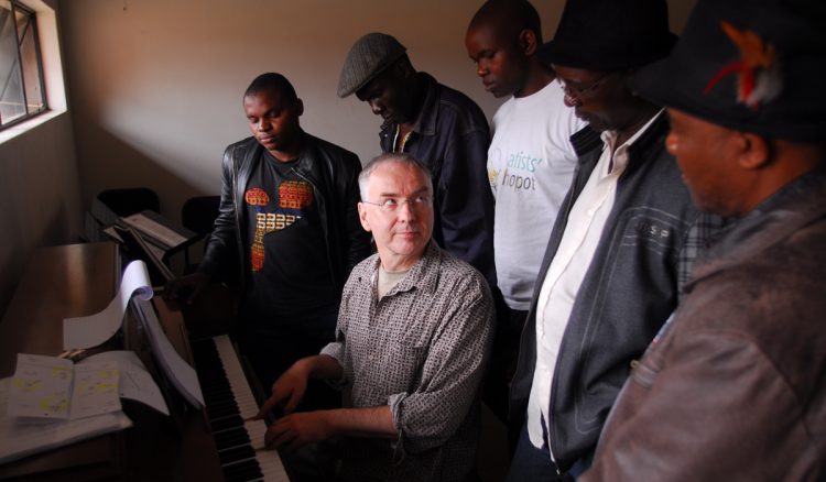 Keyboard Harmony Lessons at South East African Global Music Campus