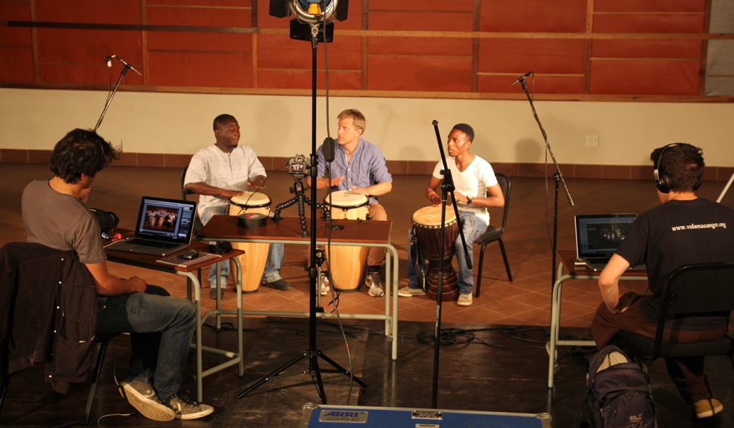 Recording of a concert at Global Music Campus