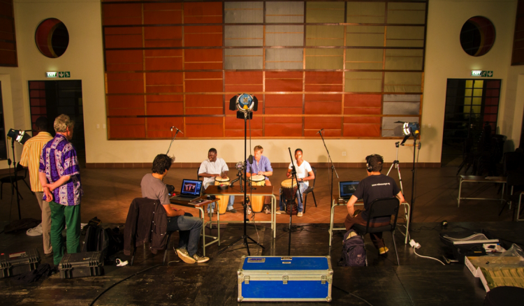 Recording session at Documentation program