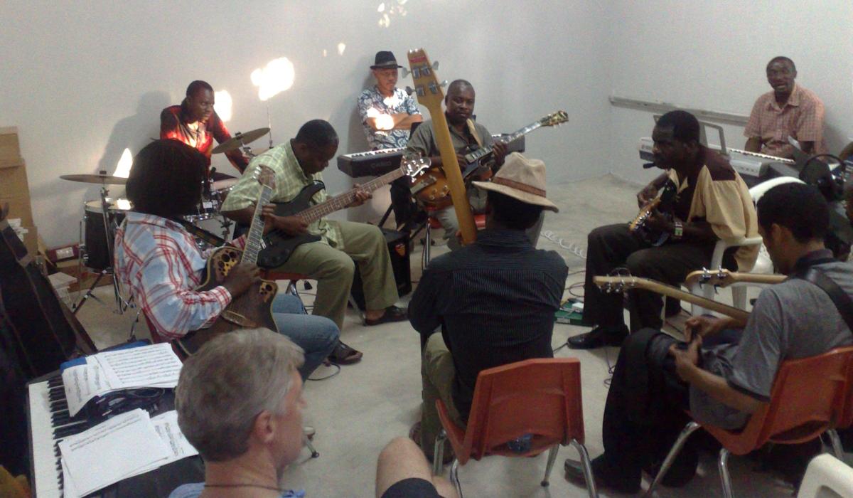 Guitar lessons at Global Music Campus