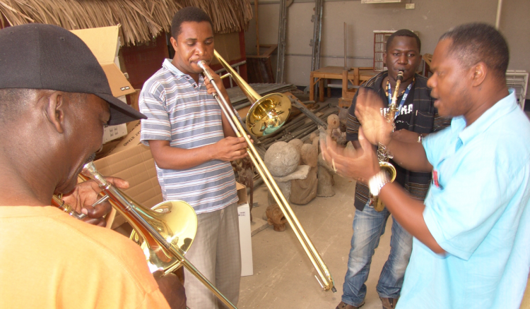 Trombone lessons African Global Music Campus