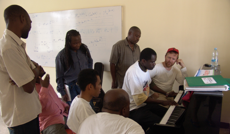 Piano training Global Music Campus