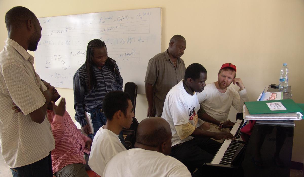 Piano training Global Music Campus