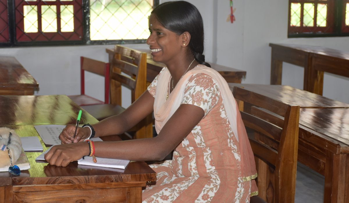 Student at South Asia Global Music Campus, a music teacher training in Sri Lanka