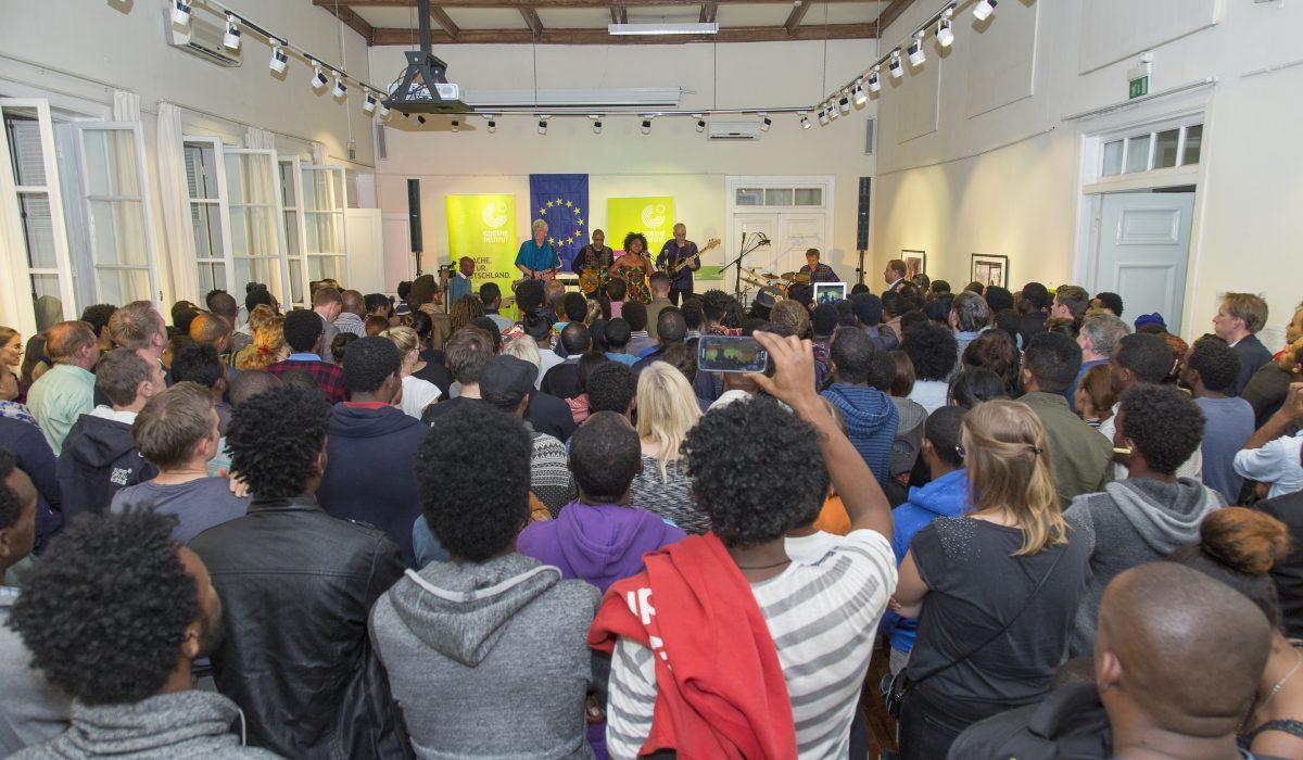 Concert at Ethiopian Program Global Music Campus