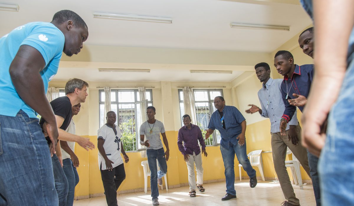 Students at the East African Global Music Campus