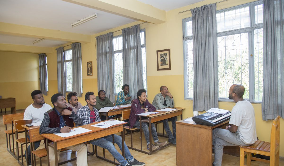 Lessons at East African Global Music Campus