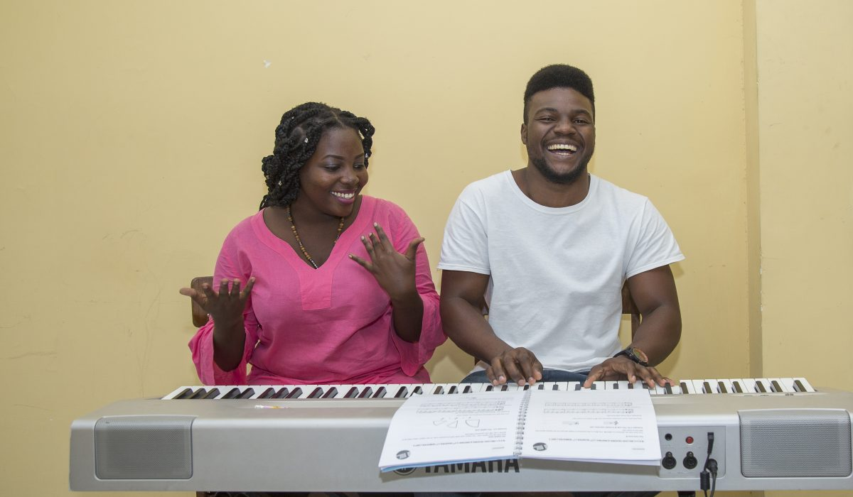 Piano Training at East African Global Music Campus