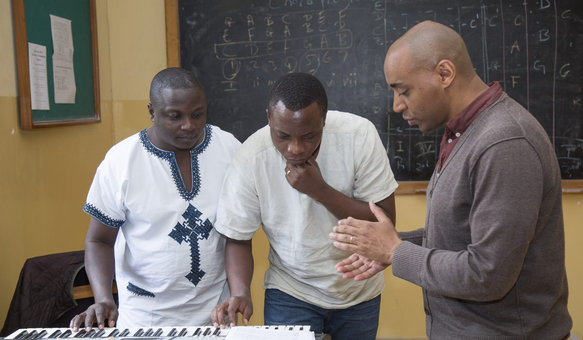 Lessons at the East African Global Music Campus