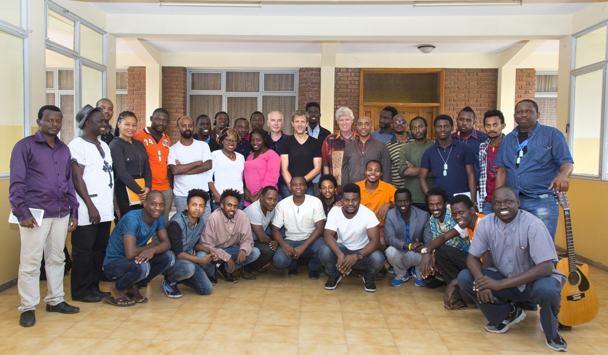 Group at the Ethiopia Global Music Campus