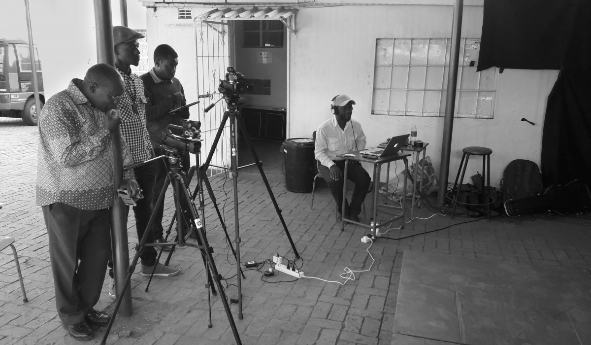 Recording sessions while documenting the Sungura Guitar Styles in Zimbabwe | Global Music Campus